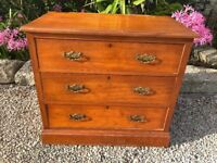 Lovely Old Wooden Chest Of Drawers