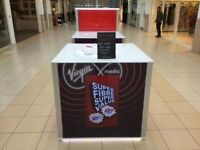 Virgin Media now open in Antonine shopping centre, Cumbernauld