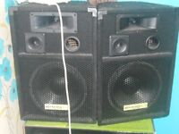 2 SPEAKER FOR SALE £49.99