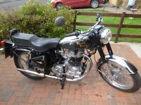 ROYAL ENFIELD 350 BULLET CLASSIC, 2005, MOT 2017, GENUINE 12,000 MILEAGE, LOVELY CONDITION