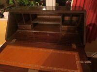 Four Drawer Bureau/Writing Desk £20