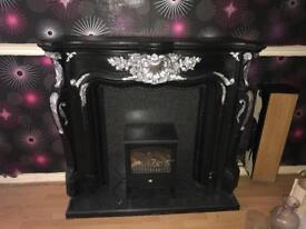 Fireplace & electric fire