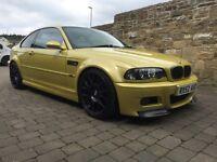 BMW m3 modified Phoenix yellow.. 3 series Coupe SMG ... M3 m4 m5 m6 vw Audi