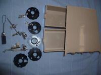 Singer 401 Sewing machine accessories & storage extension Box