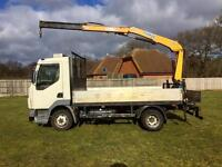 Layland DAF 7.5 ton with hiab