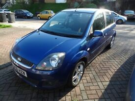Ford Fiesta 1.6 tdci Zetec with FSH. Excellent runner. £30 tax, 50+mpg