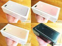 NEW Apple iPhone 7 & 7 Plus Factory Sealed Unlocked 32gb 128gb All Colors Jet Matt Black - Warranty