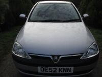 2003 Vauxhall Corsa 1.0