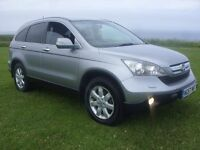 HONDA CRV ES I-CDTI,LATE 57 PLATE,110K WITH FMDSH,MARCH MOT,LOVELY CONDITION,RUNS AND DRIVES PERFECT