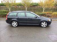 2006 06 PLATE VOLVO V50 SE 1.8 ESTATE BLACK £595