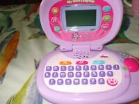 my first laptop, by leapfrog