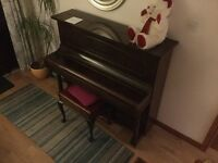 Kemble acoustic piano -great Christmas present for a beginner