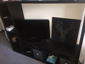 Stylish IKEA tv unit for sale. Only 5 months old.