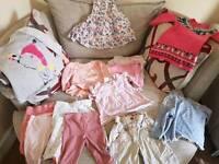 Baby girl clothes 9 - 12