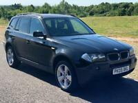 BMW X3 2.0 d Sport 5dr Diesel, 3 Months Warranty, F S History, Leather, Long MOT, Recently Serviced