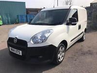 2014 14 FIAT DOBLO 1.3 MULTIJET 90 Turbo Diesel White Van NO VAT