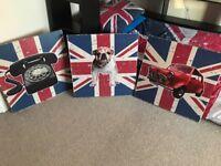 Boys Union Jack bedroom accessories