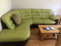 DFS Corner Sofa (Leather)