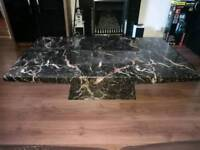 Solid Marble Large Coffee Table