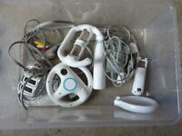 Nintendo Wii with games and extras