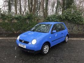 2003 VW LUPO E 1.0 ** 14 SERVICE STAMPS ** 1 OWNER ** 31000 MILES