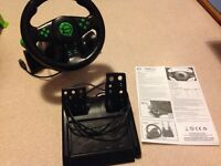 Gaming Pro Racing Wheel for Xbox 360