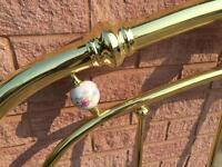 Brass Queen Headboard