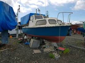 Colvic sea rider 21 fishing boat in board diesel