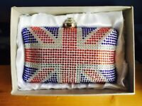 Union Jack Clutch Bag