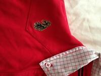 Luke polo shirt size large