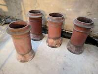 Clay chimney pot