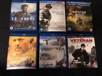 6 War Films on Blu-Ray