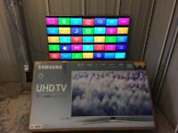 "Samsung 55"" 4k Ultra HD 2017 M series HDR led tv ue55mu6400"
