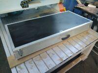 ABS Cases Case Large Guitar Instrument Case
