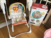 Baby's rocker swing