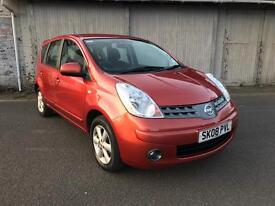 (08) NISSAN NOTE 1.4 ACENTA ONLY 46k miles