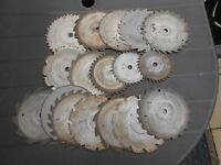USED ELECTRIC SAW BLADES