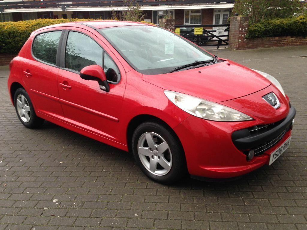 peugeot 207 sport hdi 2008 diesel 5 door red colour one. Black Bedroom Furniture Sets. Home Design Ideas