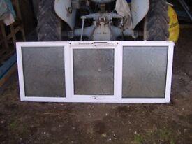 2 X Used UPVC windows