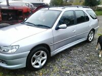 Peugeot 306 Estate 2001 **FAULT REPAIRED** Petrol 11 months MOT