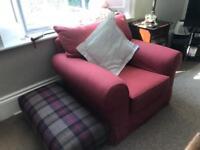 Multiyork armchair in terracotta in excellent condition