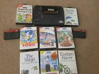 Master System 2 with 11 games