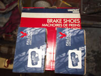 ROVER 25 or 45 REAR BRAKE SHOES AND CYLINDERS ALL NEW