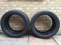 2 x Tyres with good tread 275/40ZR20