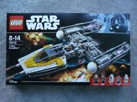 Lego 75172 Star War Y-wing Fighter - Brand New & Sealed