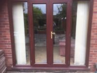 Good Quality - Upvc Patio / French Doors 2060H x 2380W -Just removed/Complete