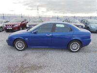 Mot till 29th Jan.alfa 1.8 petrol 156 4 door saloon