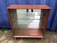 Old bookcase or display case FREE DELIVERY PLYMOUTH AREA