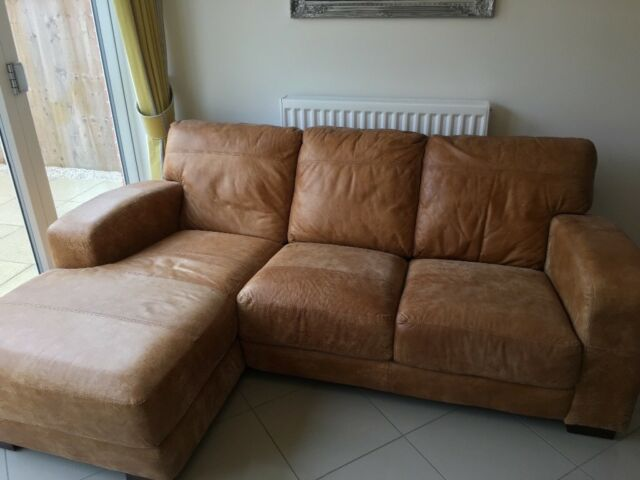 Terrific Dfs Leather Caesar Sofa Left Hand Chaise End In Pontefract West Yorkshire Gumtree Camellatalisay Diy Chair Ideas Camellatalisaycom