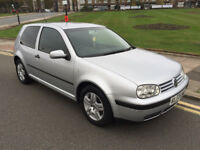 2003 VW Golf 1.4 Manual 3 Door Hpi Clear Focus Astra Civic Auris Audi A3